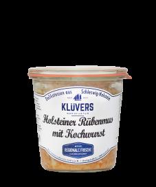 KLÜVER'S Holsteiner Rübenmus mit Kochwurst